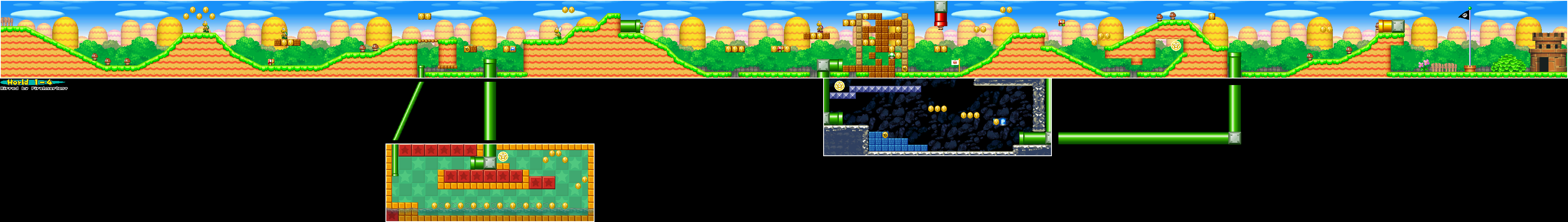 New Super Mario Bros Maps Ds Mario Universe Com