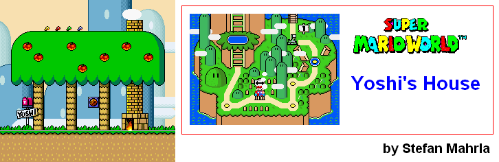 Super Mario World Maps - SNES - Mario Universe.com